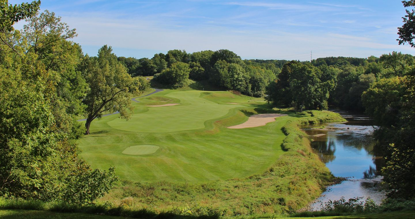 River at Blackwolf Run Golf Course in Kohler, Wisconsin, USA | Golf ...
