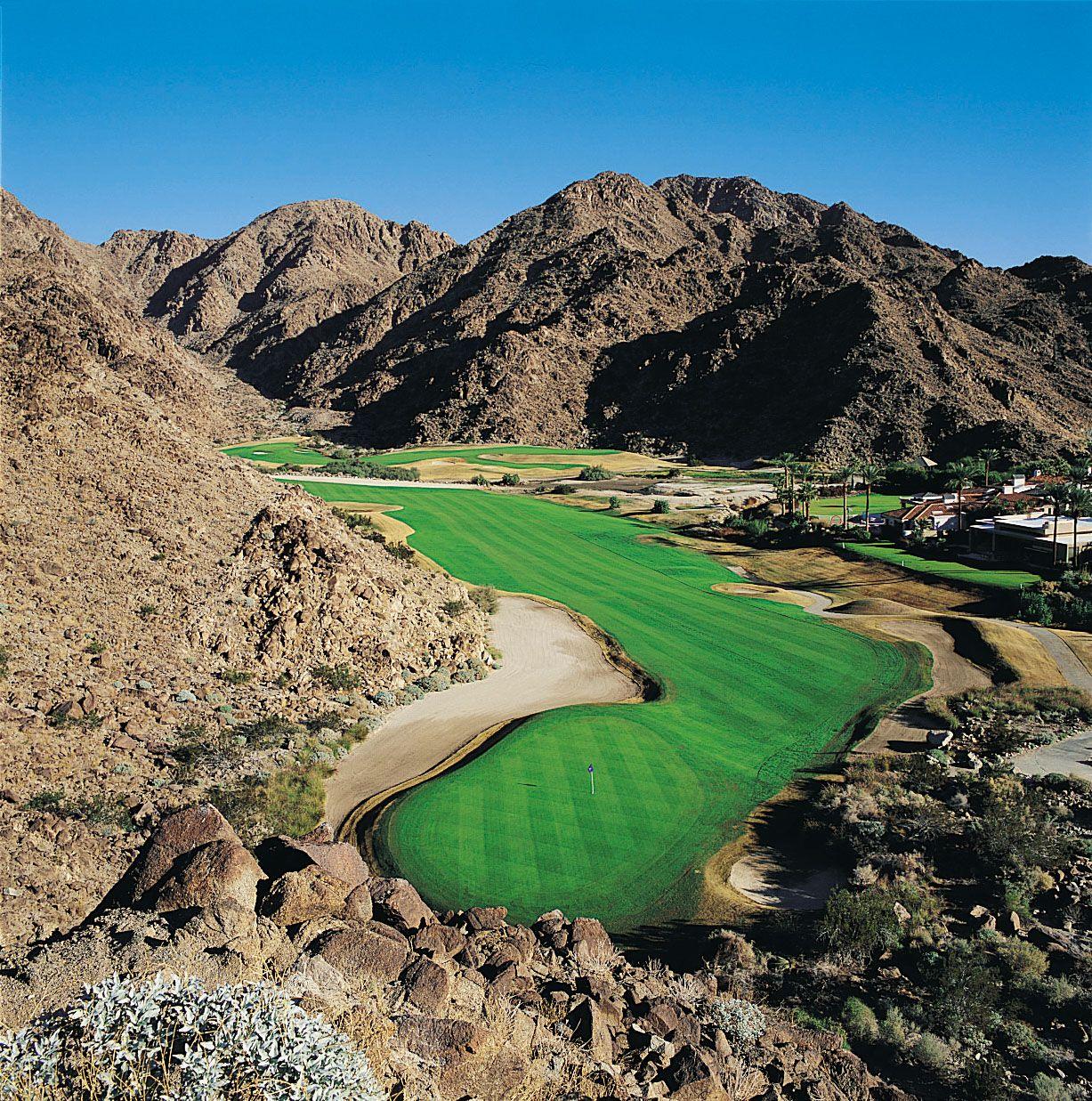 la quinta resort mountain course in la quinta, california, usa