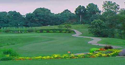 par 3 at eagle springs golf course in saint louis missouri usa